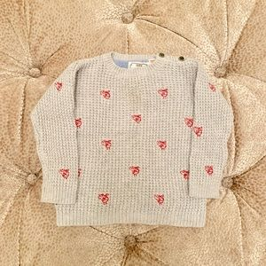 Zara Toddler Boy Helicopter Knit Sweater